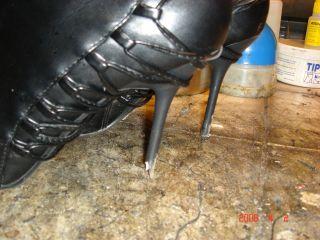 klacka om skor